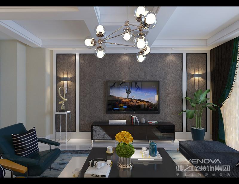 现代简约风格非常讲究材料的质地和室内空间的通透哲学。一般室内墙地面及顶棚和家具陈设,乃至灯具器皿等均以简洁的造型、纯洁的质地、精细的工艺为其特征。