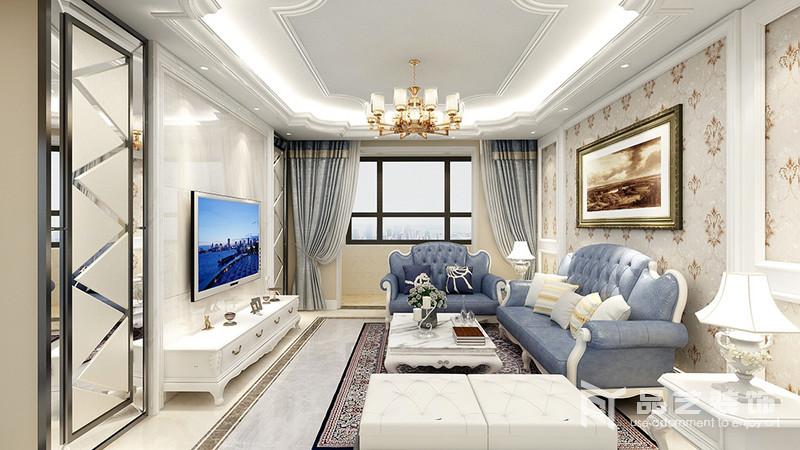 锦绣园三居室-客厅