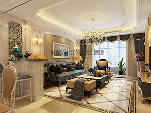 歐式風格| 建業壹號城邦137㎡—典雅大氣、奢華浪漫的家