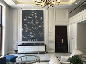 聯排別墅,美式輕奢風格, 240平,實景