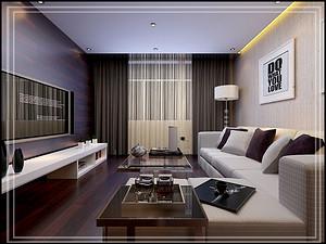 富力熙悦居三居室 147㎡ 现代简约风格