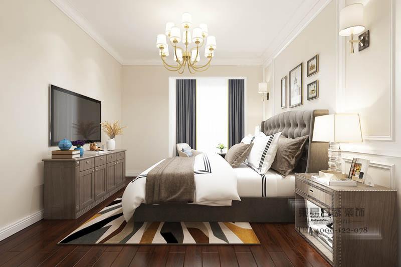 临沂浅水湾复式卧室装修效果图
