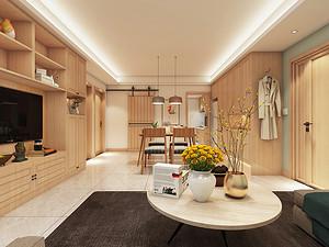 西安两居室 80㎡ 日式风格