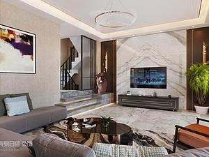 现代风格 | 温莎城堡260m2 — 极具质感
