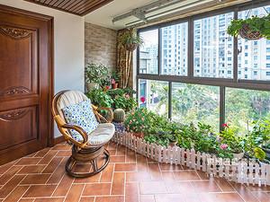 临沂装修东南亚风格装修效果图_三室两厅
