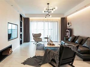 197㎡现代主义4室2厅,黑白质感尽显轻奢魅力
