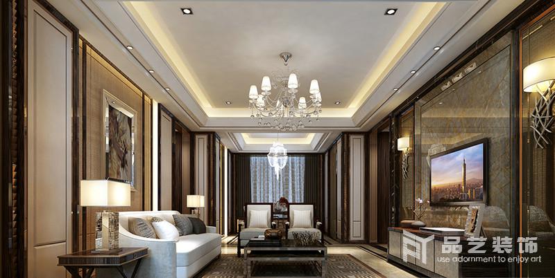 东部现代城四居室-客厅