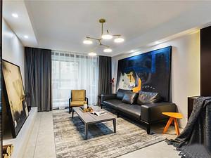 140㎡現代主義4室2廳,品味小資生活的輕奢質感
