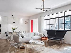 152㎡現代主義3室2廳,簡約不失溫暖的藝術格調