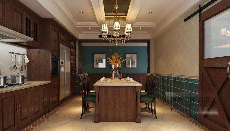 美式客餐厅装修效果图