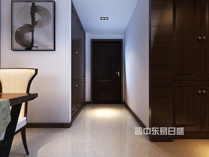 在室内和室外的交界处,门厅是一块缓冲之地,是具体而微的一个缩影,是乐曲的前奏,散文的序言,也是风、阳光和温情的通道,厨房和门厅的墙是一体,在改造墙体的时候,把门厅的墙体扩大,门厅的鞋柜从双门变成四门,增加了收纳空间。