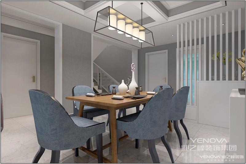 北欧风格的简洁体现在整体色调的统一以及对直线条的运用。北欧风格的设计多以黑白色为主,虽然简单,但却带有强烈的设计感。而且从家具到墙面装饰,简洁利落的直线条随处可见,充满了现代气息