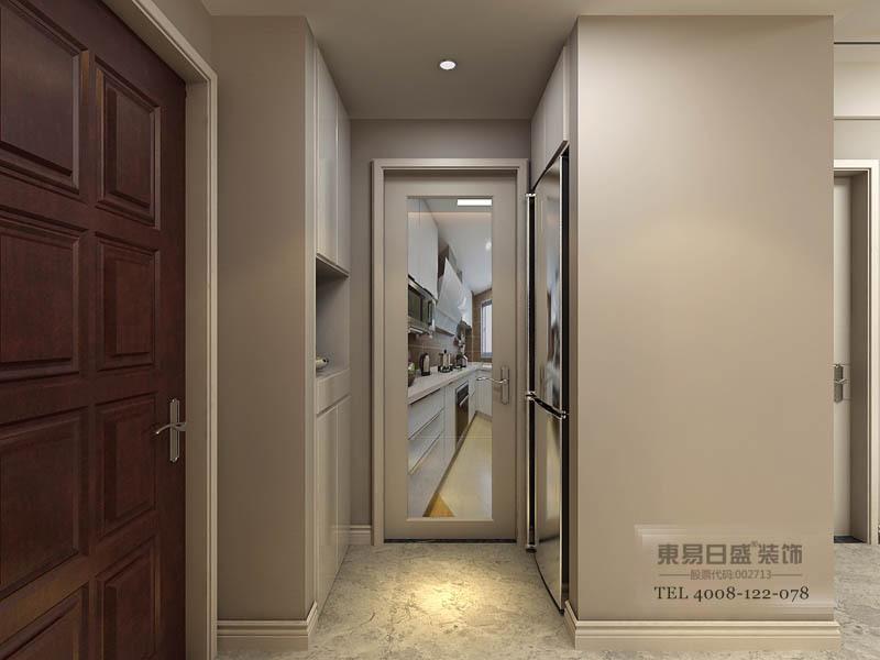 河东沂河馨苑装修效果图_入门玄关