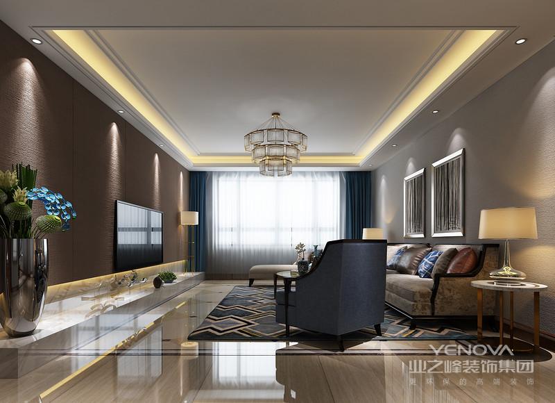 所用色调的深浅、明暗对比令视觉更加活跃,家具色调上的内敛给予深厚的艺术质感,讲究的陈列给你带来现代轻豪华的气息。