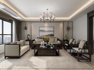 東方潤園8號樓,150平方,新中式風格,