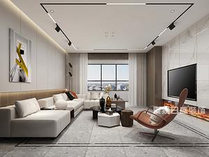 東方潤園11號樓,150平,現代簡約風格
