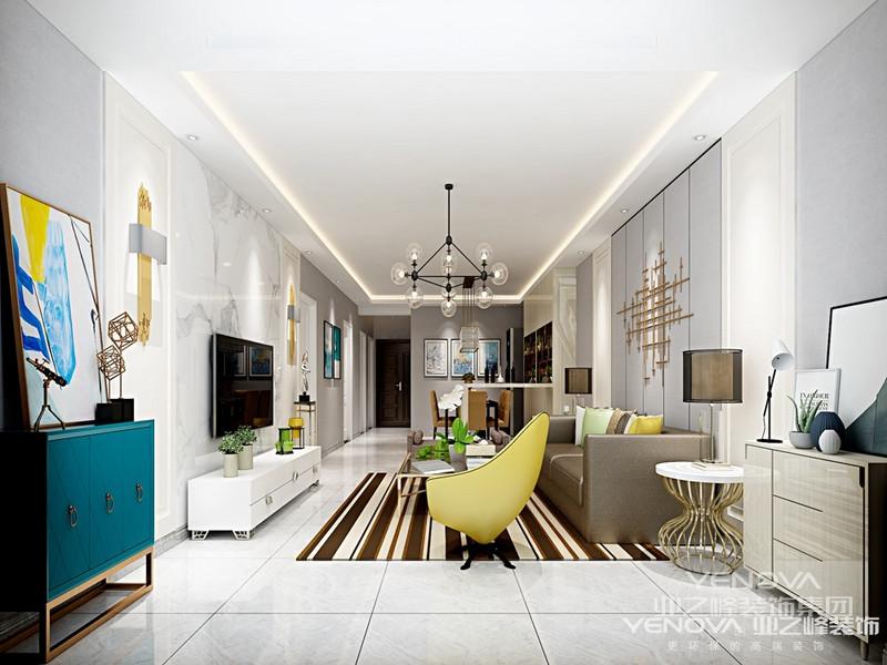 现代简约风格是以简约为主的装修风格。简约主义源于20世纪初期的西方现代主义。西方现代主义源于包豪斯学派,包豪斯学派始创于1919年德国魏玛,创始人是瓦尔特·格罗佩斯(Walter Gropius),包豪斯学派提倡功能第一的原则。 提出适合流水线生产的家具造型,在建筑装饰上提倡简约,简约风格的特色是将设计的元素、色彩、照明、原材料简化到最少的程度,但对色彩、材料的质感要求很高。因此,简约的空间设计通常非常含蓄,往往能达到以少胜多、以简胜繁的效果。