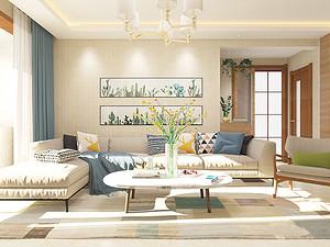 和平一号三居室 105㎡ 北欧风格
