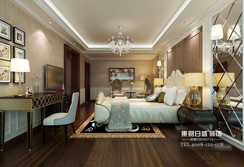 新古典风格卧室效果图2