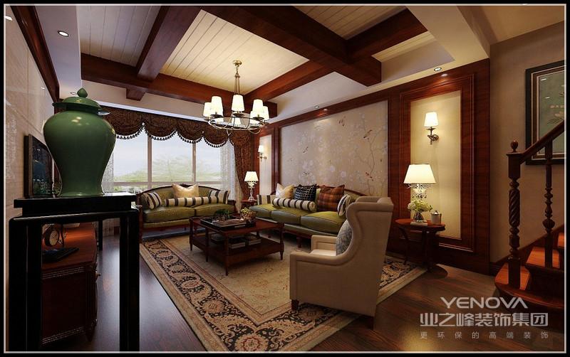 门厅也是阳台,既能借景,采光也非常好,逐步欣赏大气秀美的客厅。