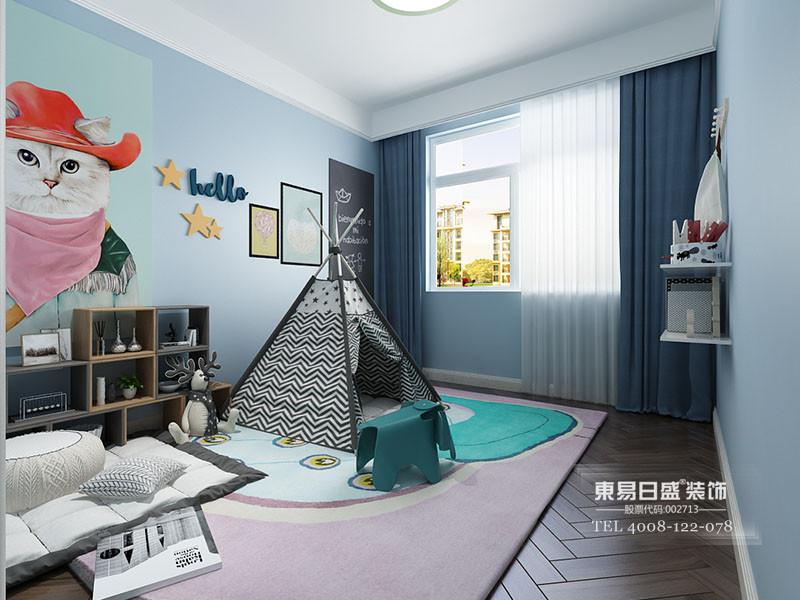 现代简约儿童房