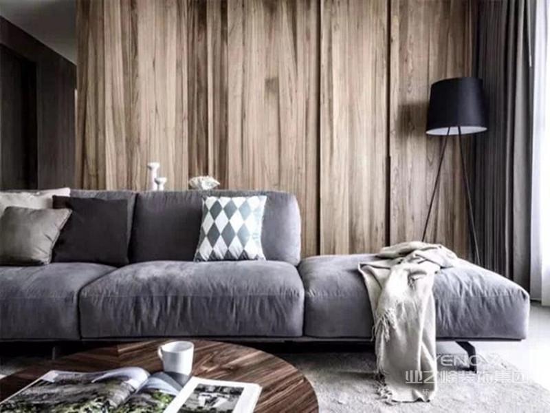 北欧风格源于挪威、丹麦等地,简约、自然是它的代名词。本套案例的设计理念正是基于此,鉴于客户是两位年轻的夫妻,能够接受较为新潮的设计理念,特此我用了白灰为主色调,木色为副色调。在大面积留白的情况下,却又不显得单调,沉稳中又不失轻松,让人有种回到家后就想休息的冲动。