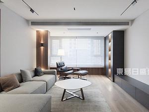翠湖御景,現代風格,裝修實景圖 145㎡ ,三室一廳