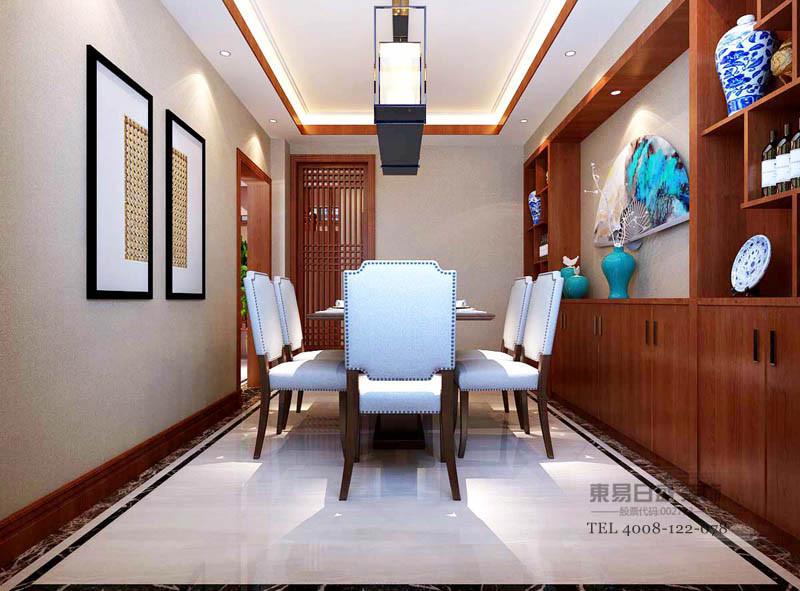 餐厅的花格和线条让每个空间更有互动性,简单的线条是餐厅更有层次感。