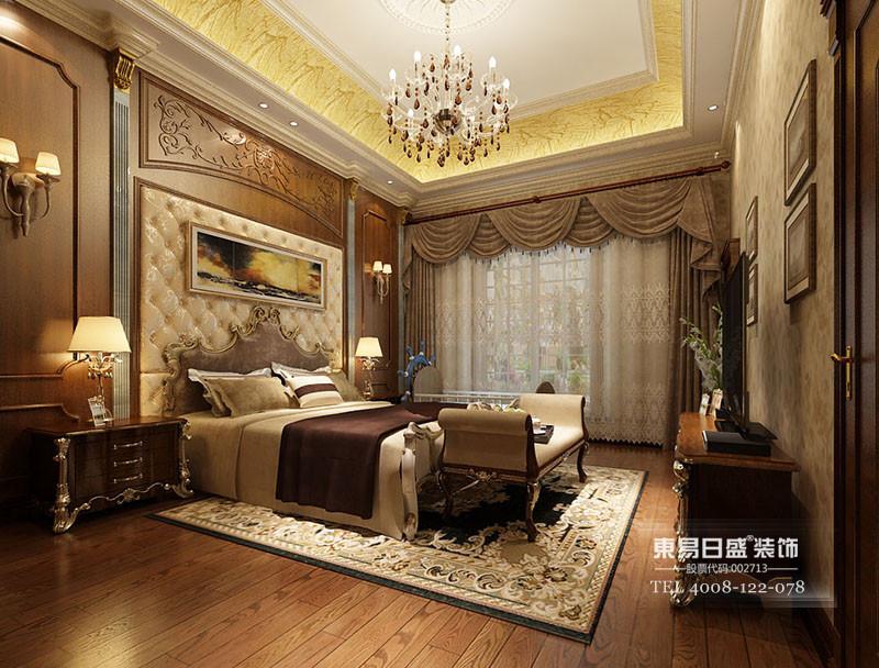 别墅美式风格卧室