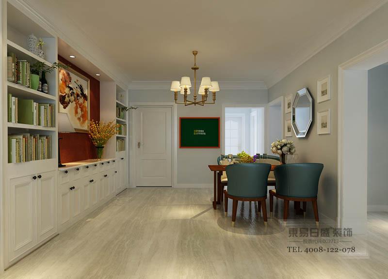 线条流畅,富有层次感。沙发背景是线条流畅的护墙。