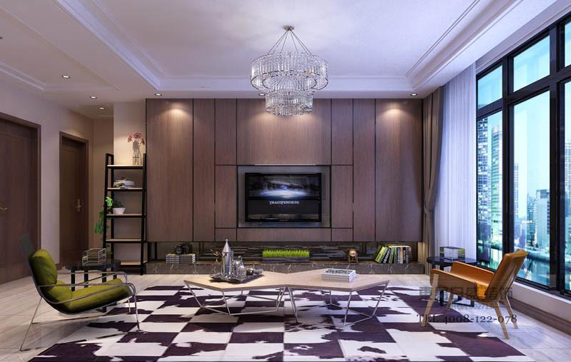 临沂凤凰水城装修方案室内空间,以色彩和陈设来实现不同区域的特定功能。首先运用大量的中间色系让空间融合起来,局部采用亮色彩来点缀,令整体沉稳优雅的氛围呈现变化。