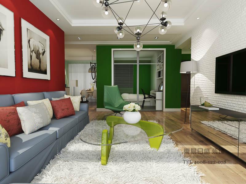 临沂沂龙湾装修效果图以简洁明快的设计风格为表现形式。