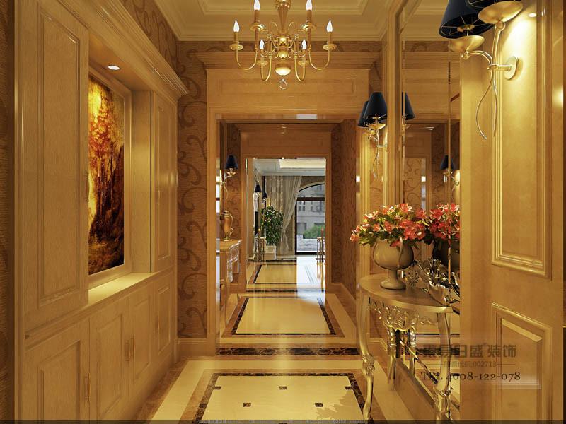 传统欧式的居室有的不只是豪华大气,更多的是惬意和浪漫。