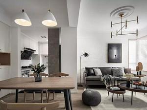 98㎡現代主義3室2廳,高級灰彰顯優雅時尚感