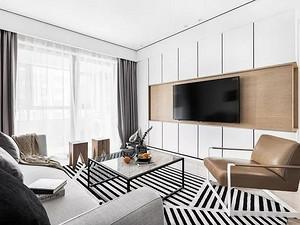 87㎡擠出三間房,客廳時尚大方,衛生間最漂亮!