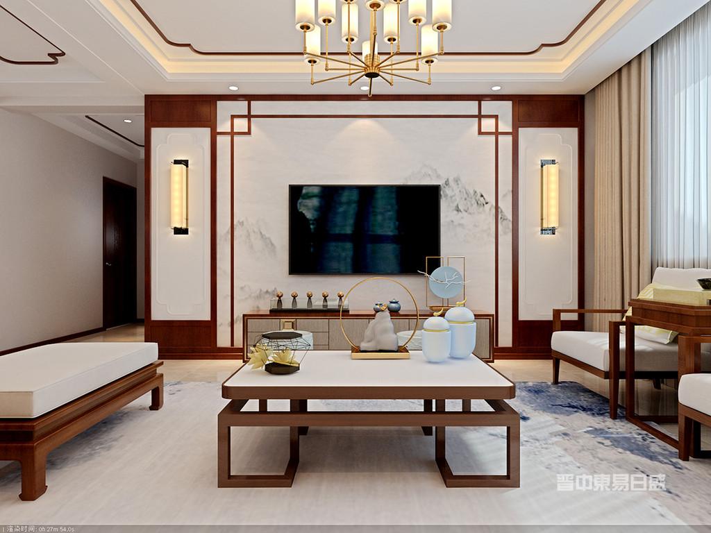 唐诚银座--客厅1