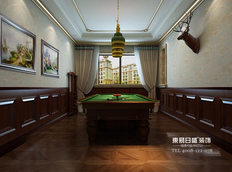 别墅装修休闲室装修效果图欧式古典风格