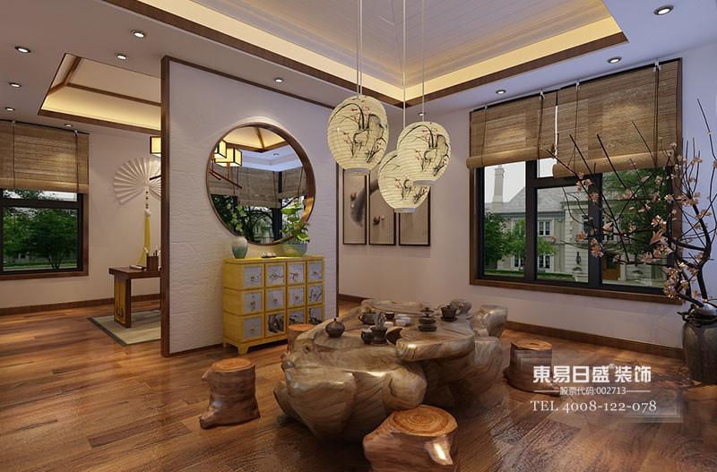 中式茶-茶厅