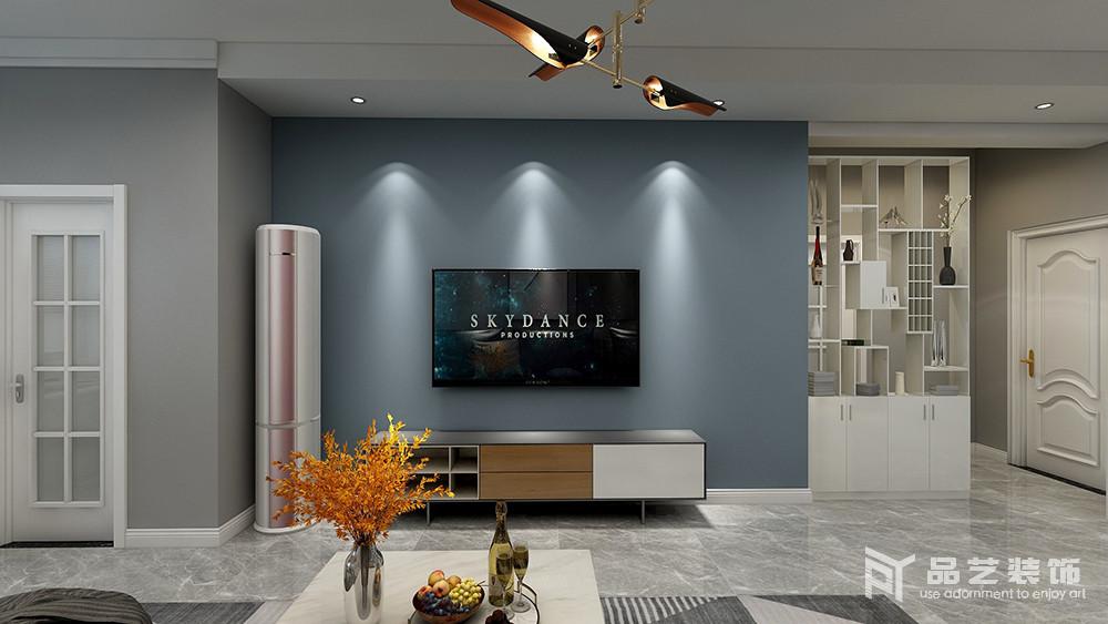 金泰园-客厅电视墙