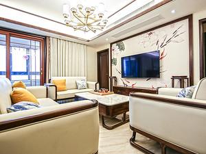 新中式风雅系列   阳光郡三居室