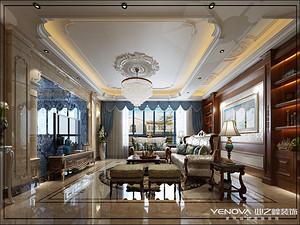 夏都府邸-370㎡-欧式新古典风格案例