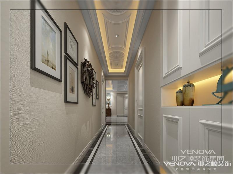 美式风格传承了欧式装修的精髓,优雅,大气
