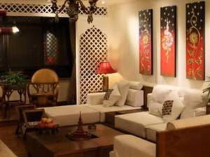 安泰华庭-147㎡-东南亚风格