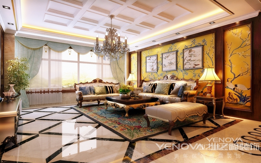 具有传统家具的线条轮廓特点,又采用现代工艺去改变家具材料,讲究舒适感。