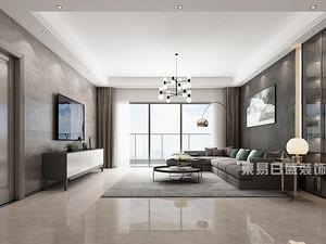 恒裕滨城-200平米装修-现代简约风格