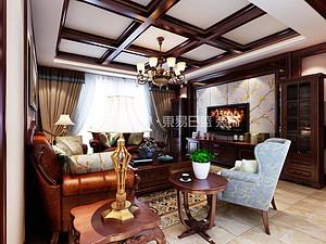 美式风格| 建业壹号城邦170㎡—典雅浓重的美式之家