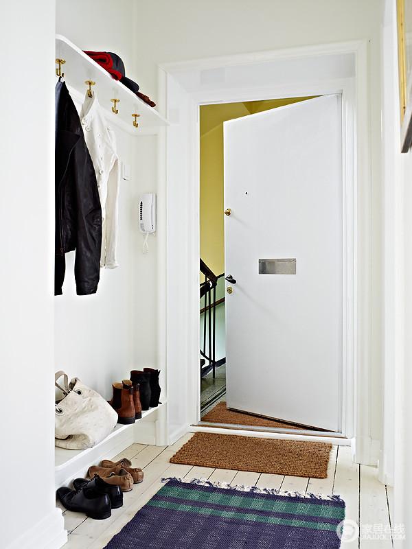 62平极致白色北欧公寓 清新美丽时尚家