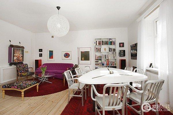 斯堪纳维亚的白色简约小公寓 北欧风情