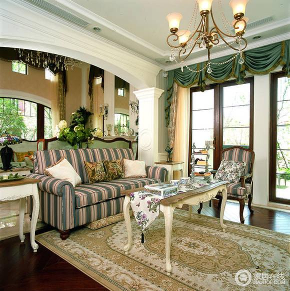 古典别墅案例欣赏 软装配饰极其讲究