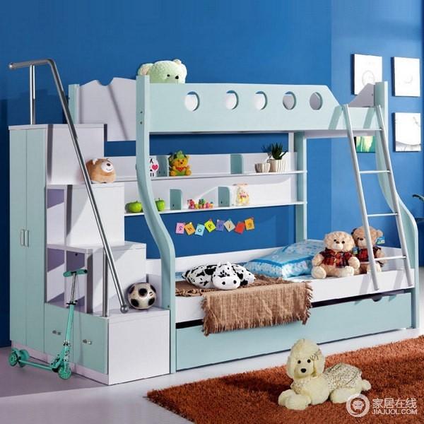 12款楼梯儿童房 一步一台阶见证宝宝成长